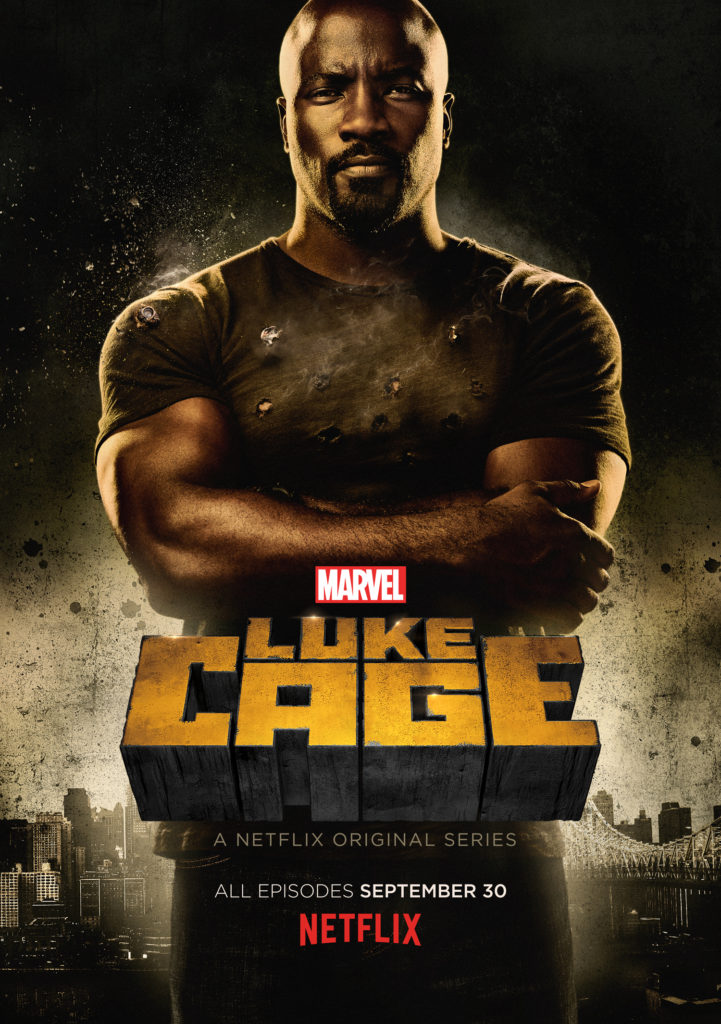 Luke Cage is Looks Stronger than Bullet in the First Clip