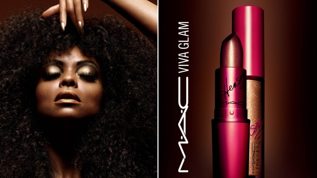 Taraji P. Henson Launched the Makeup Collection with MAC Cosmetic