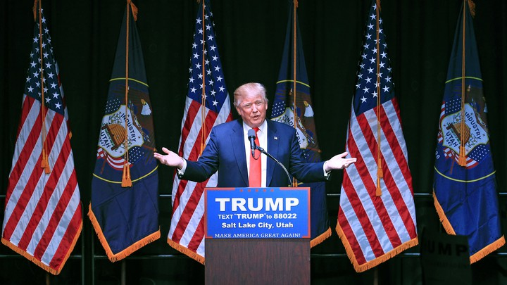Voting Donald Trump by Utah Governor Gary