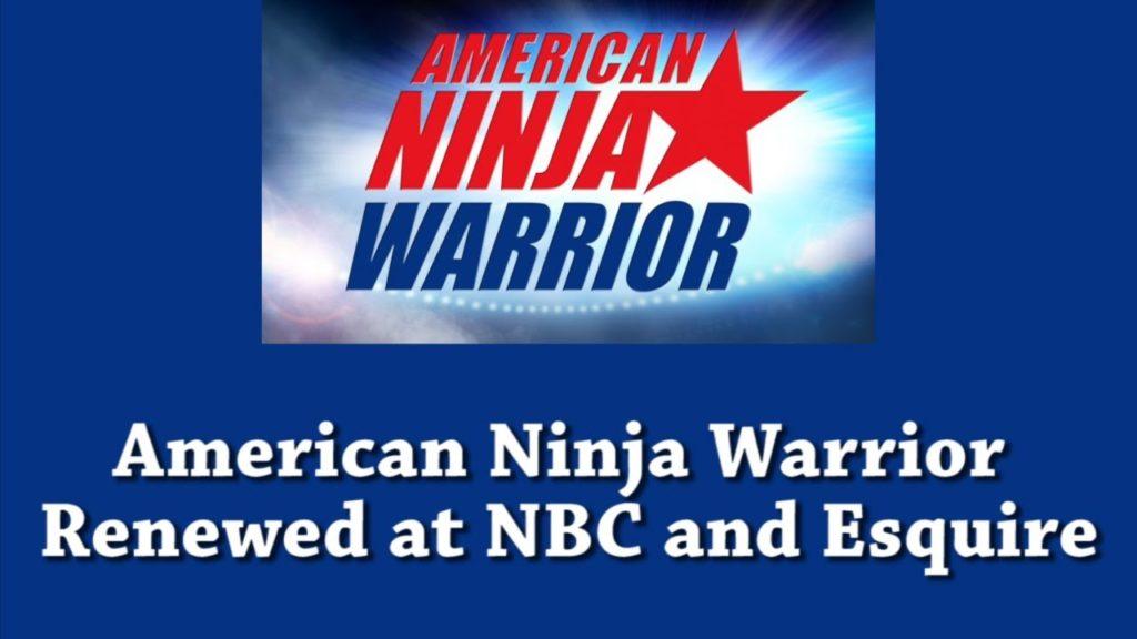 American Ninja Warrior Renewed at NBC and Esquire
