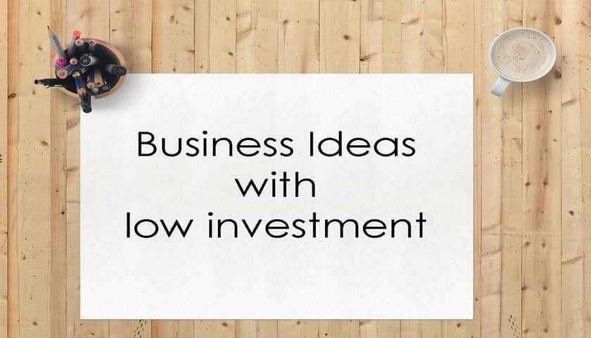 10 Best Online Business Ideas with Low Investment