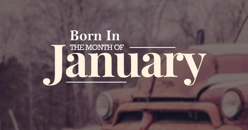 10 Famous People Who Born in January