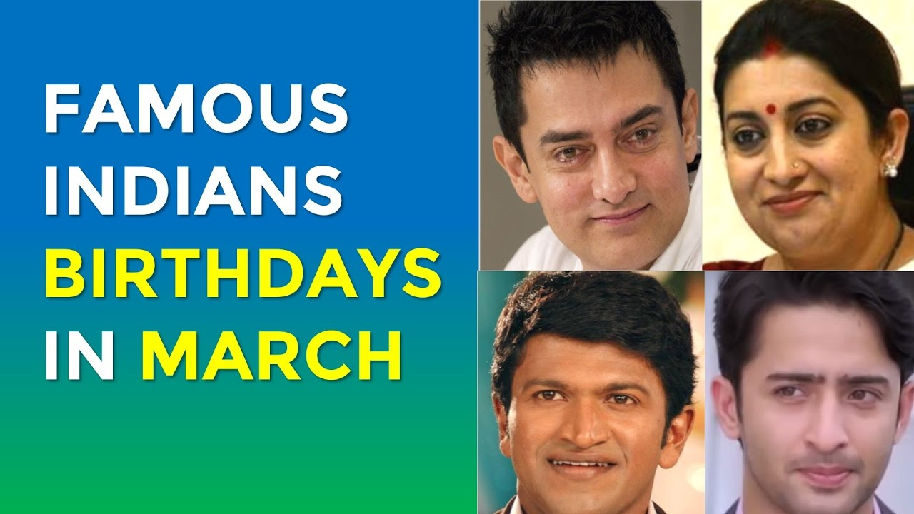10 Famous Person who Born in March