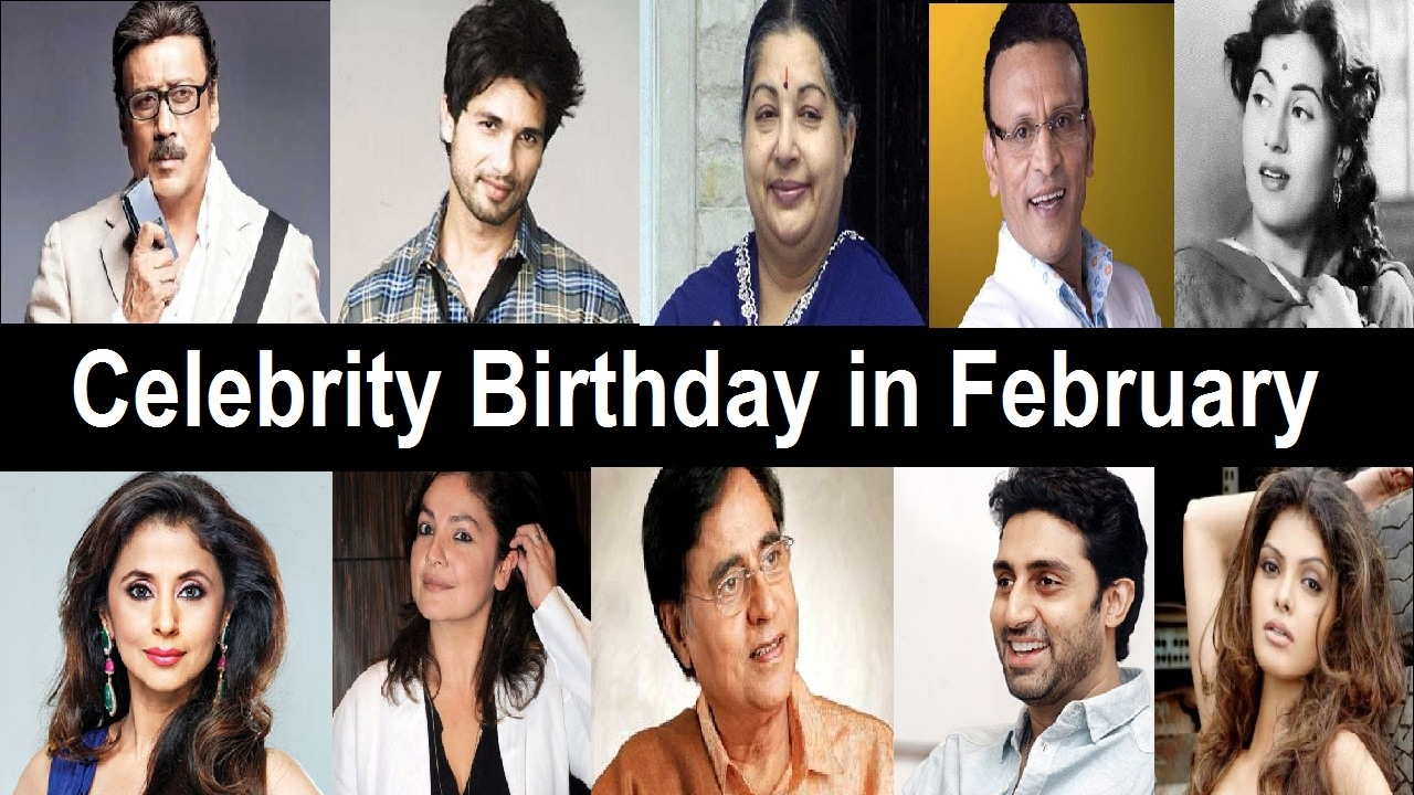 10 Famous People who Born in February
