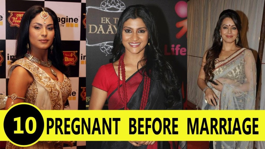 Bollywood Actress Who Pregnant Before Marriage