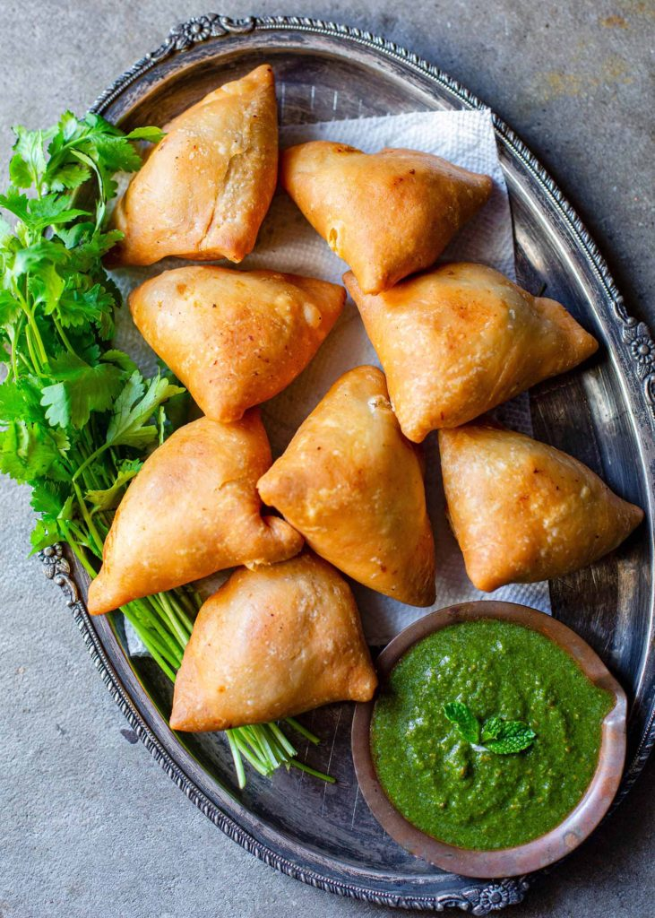 How to Make Green Chutney for Samosa
