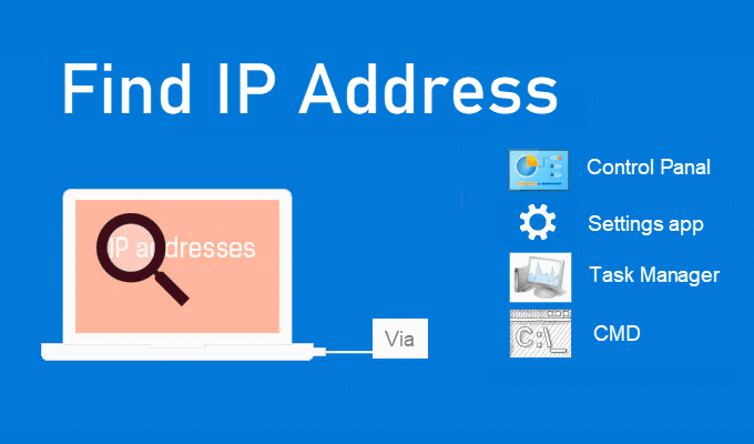 How to Find IP Address Windows 10